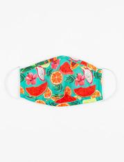 Masque en tissu à motifs de fruits