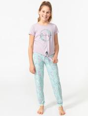 Pyjama 2 pièces doux imprimé